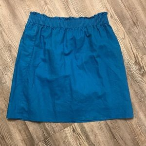 Blue JCrew Skirt